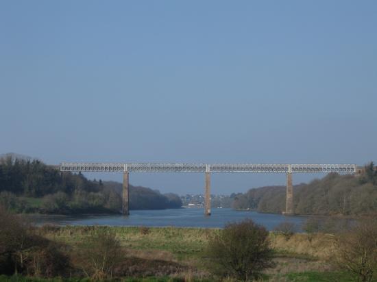 pont de chemin de fer sur la Penzé