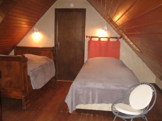 lits dans mezanine